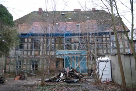 geschlossenes Dach auf der Nordseite