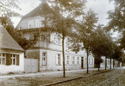 Foto der Domherrnstraße Nr. 8 aus dem Jahre 1911
