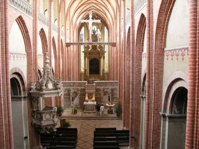 Hauptschiff Dom St. Marien