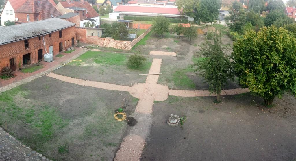 Gartenbaustelle