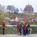 Stadtgraben und Dom