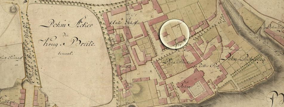 Plan von Thal - 1797