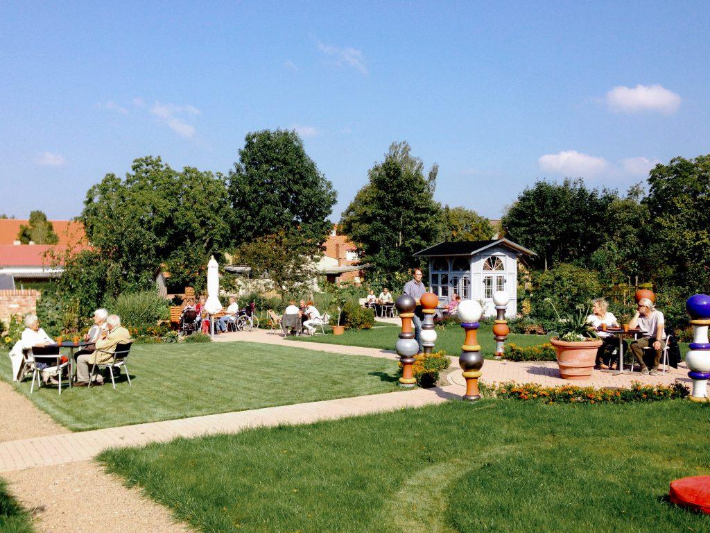 Cafe im Garten