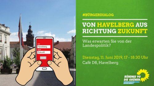 von Havelberg aus Richtung Zukunft